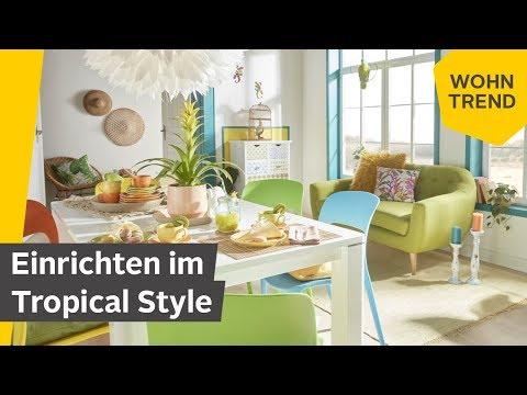 Einrichten im tropischen Stil: Der Wohntrend Tropical Feeling| Roombeez – powered by OTTO