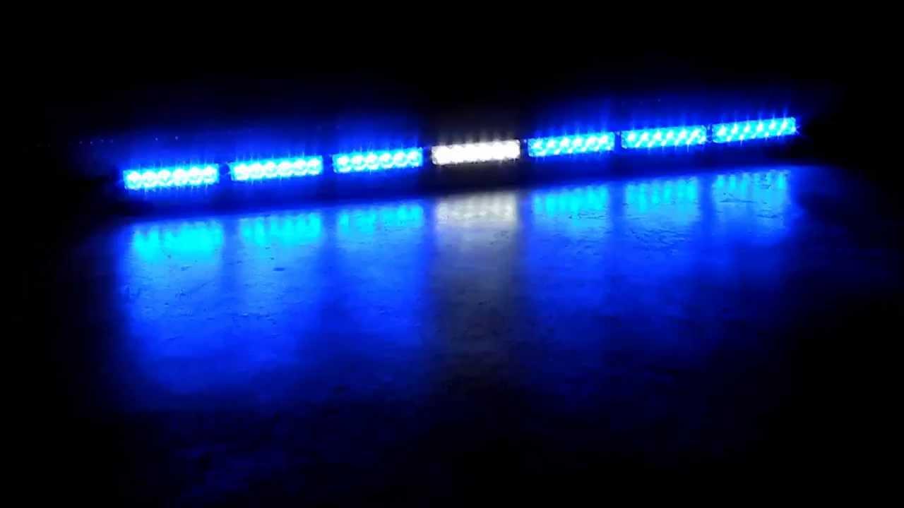 Blanc Led Patrol Led Bleu/blanc/bleu