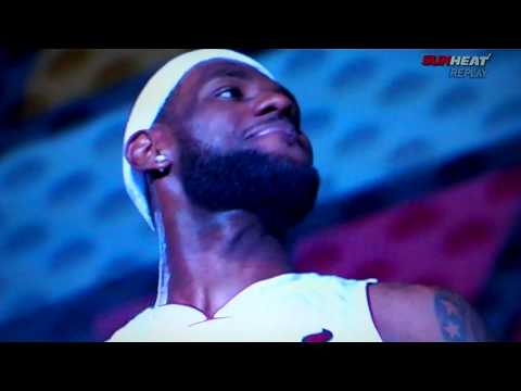 Miami Heat intro to LeBron James, Chris Bosh and Dwyane Wade