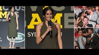 Meghan Markle, Prince Harry speech at Invictus Games closing ceremony