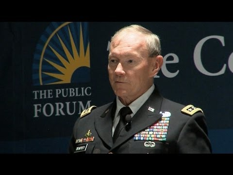 Martin Dempsey: Cyber Attacks are Black Swan Threat to US