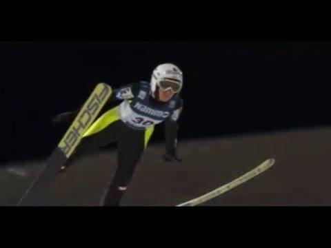 Ski jumping World Cup 2016 Ladies. Oslo Daniela Iraschko-stolz AUT