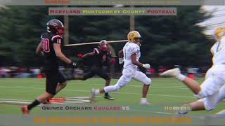 Montgomery Co Game of the YEAR || Quince Orchard 21 vs Damascus 7 || Maryland Week 2