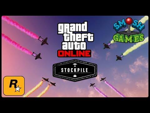STOCKPILE Mode with SMOSH GAMES (GTA Online Live Stream)