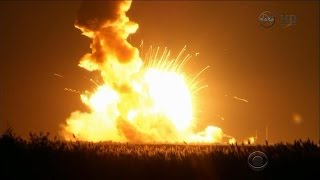 Rocket bound for International Space Station explodes