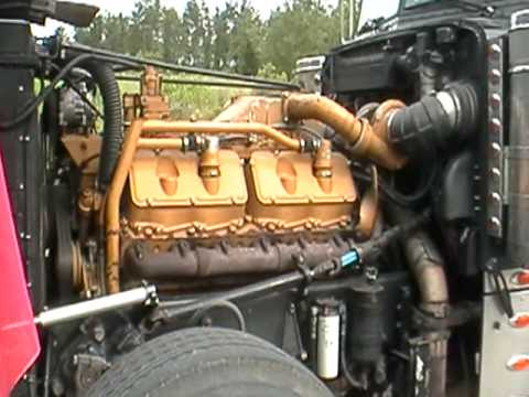 V12 Caterpillar Diesel Youtube