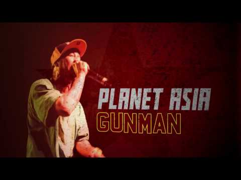 PLANET ASIA x JUNIOR MAKHNO 'GUNMAN'