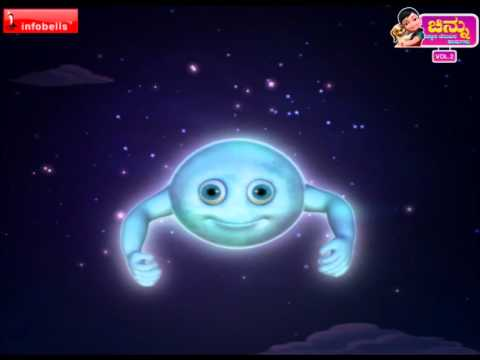 Chandamama Ba Ba - Kannada Rhymes Chinnu 3d Animated video