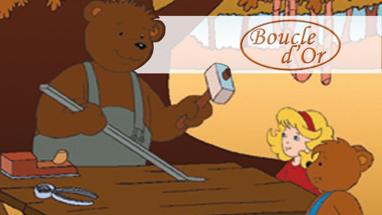 Boucle d 39 or les contes de notre enfance hd youtube - Petit ours dessin anime ...