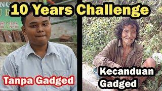 10 years challenge - Dolanan Jadul VS Sekarang