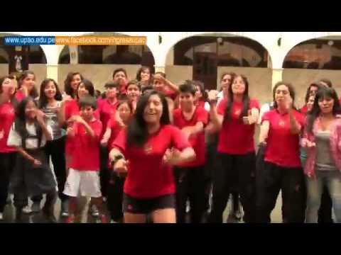 UPAO   Presentación Flash Mob colegio Champagnat