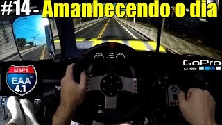 🔴► Euro Truck Simulator 2 - Brasil EAA 4.1 - G27 - #14 - Triple Screen - Nvidia Surround