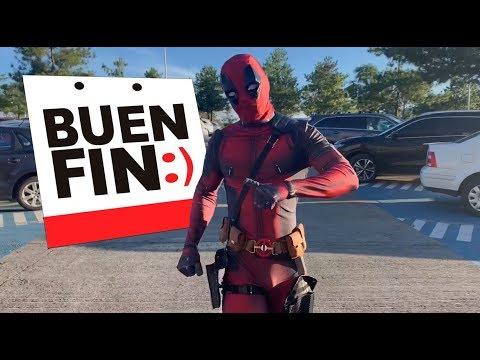 DEADPOOL DE COMPRAS EN EL BUEN FIN / NAVY