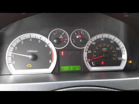 2007-2011 GM Chevrolet Aveo - Fixed Gauges - Replaced Fuse - Speedometer, RPM, Fuel & Temp