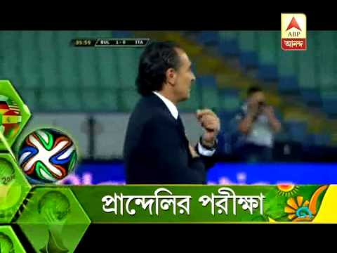 Football World Cup: test of Italy coach Prandelli
