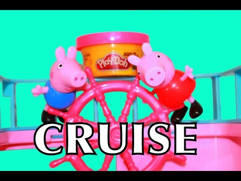 Peppa Pig Play-Doh AllToyCollector Barbie Cruise Like Disney Frozen Cruise Ship Series