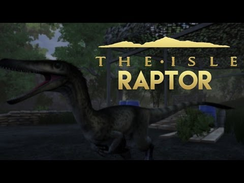 The Isle | Solo Raptor Attacks | Sneaky Raptor Gameplay