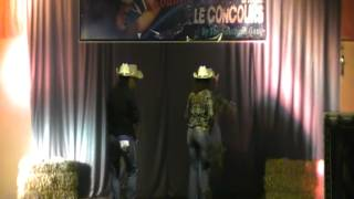FIRST - AJACCIO COUNTRY DREAMS - Concours de country Style Catalan - France