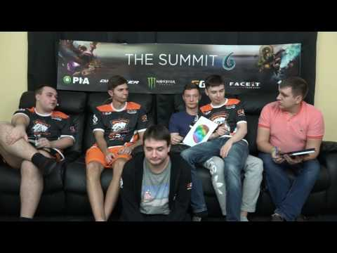 The Summit 6. На диване: Virtus.Pro + Resolut1on