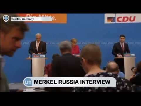 Merkel Russia Interview: German Chancellor says Russia 'prepares problems' for post-Soviet states