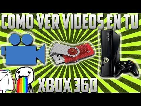 Tutorial - Como ver videos y peliculas en el Xbox 360 con USB