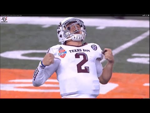 2013 Texas A&amp;M Football Official Hype Video