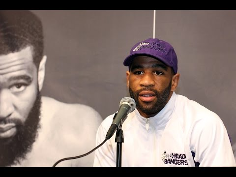 Danny Garcia VS. Lamont Peterson POST FIGHT Press Conference! (LAMONT ONLY)