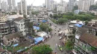 Tardeo,Mumbai central,Vasantrao Naik Chowk.Great Eastern,Meru Tower.RTO street Video