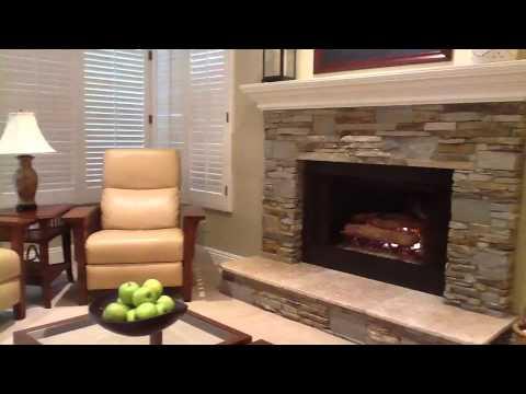 VENEER STONE Fireplaces LEDGESTONE - YouTube