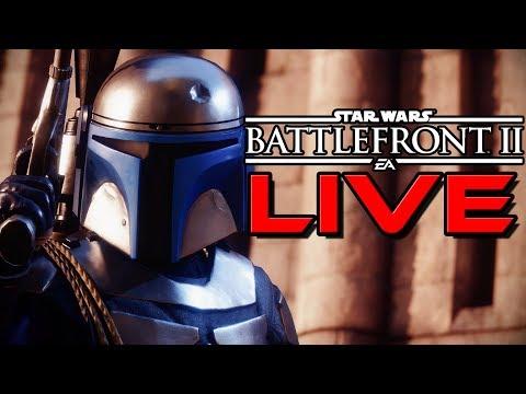 PATCH 1.2 Hero Gameplay + Jetpack Cargo Star Wars Battlefront 2 LIVE