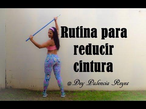 VIDEO: RUTINA PARA REDUCIR CINTURA - (RUTINA 323) - DEY PALENCIA REYES