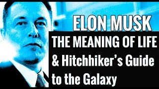 Elon Musk Interview - The Meaning of Life & Hitchhiker's Guide to the Galaxy