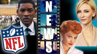 Sony's Concussion 2015 vs NFL, Cate Blanchett is Lucille Ball - Beyond The Trailer