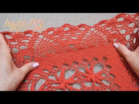 Orilla # 23 para  el Chal Crochet