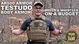 Testudo Gen 2 Plate Carrier!  Bells & Whistles on a Budget