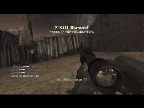 Chuck Norris playing COD4!