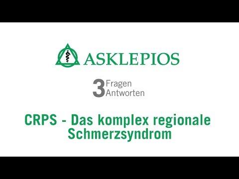 CRPS - Das komplex regionale Schmerzsyndrom: 3 Fragen 3 Antworten | Asklepios
