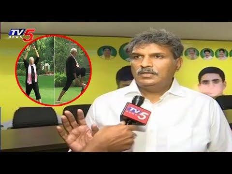 మోడీ ఫిట్నెస్ వీడియోలు చేసుకొని సంతోషపడుతున్నారు..! | Political Junction | TV5 News