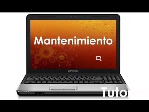 Como desarmar y dar mentenimiento a una laptop Compaq CQ42-320LA