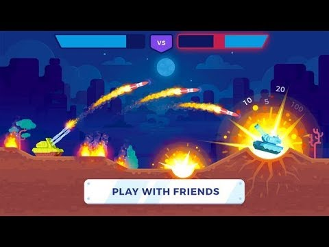 Tank Stars Android Game Play