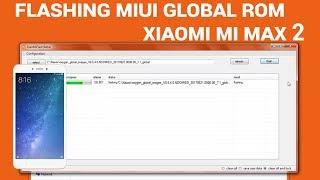 Flash/Unbrick Fastboot Miui Rom Xiaomi Mi Max 2 | Mi Max 2 Global Rom Flashing