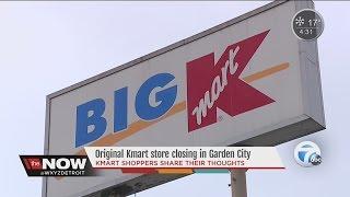 Original KMart store closing