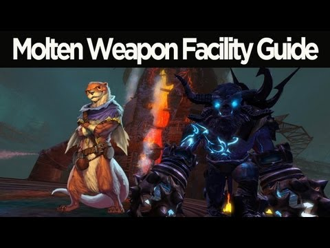 Guild Wars 2 - Molten Weapon Facility Dungeon Guide