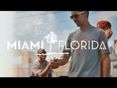 Almond Footwear Miami BMX Trip