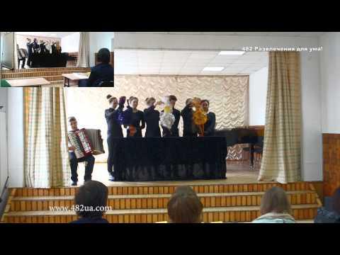 Музыкальная Олимпиада, выступление ДШИ №3, Харьков, Чайковский 175 лет