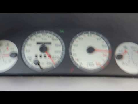 Punto GT 210hp test 0-240 km/h
