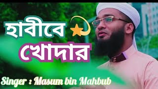 হাবীবে খোদার। habibe khodar। Bangla Islamic song। by Manjil shilpi gosthi