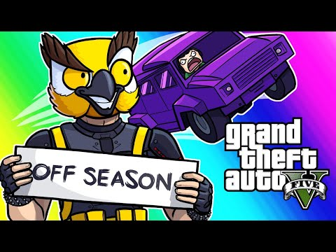 GTA5 Online Funny Moments - Insurgents VS RPG! (#OffSeason)