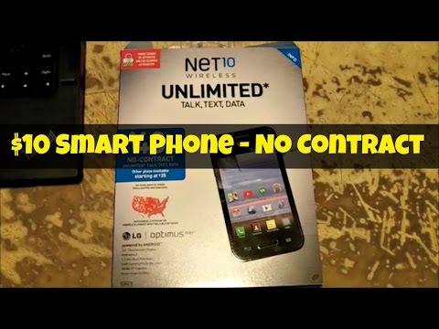 Ten Dollar Smart Phone - Net10