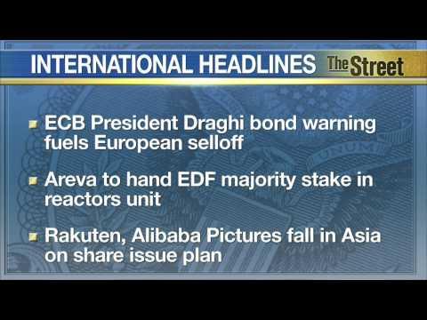 European Indices Fall Amid Bond Panic, Worries about Greek Debt